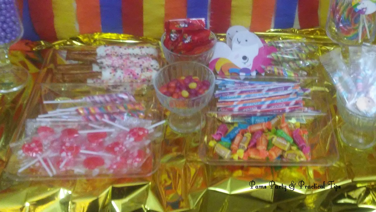 Brilliant Pams Party Practical Tips An Unicorn Candy Buffet On A Budget Interior Design Ideas Inesswwsoteloinfo