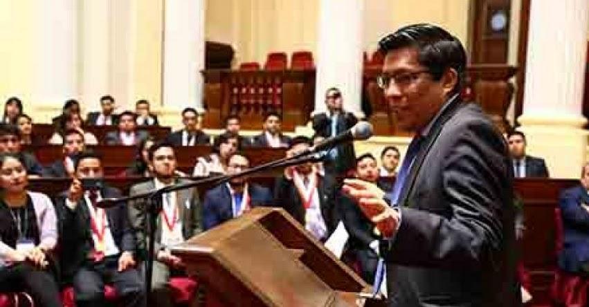 MINEDU informa sobre estado situacional del COAR Moquegua al despacho del congresista Vicente Zeballos