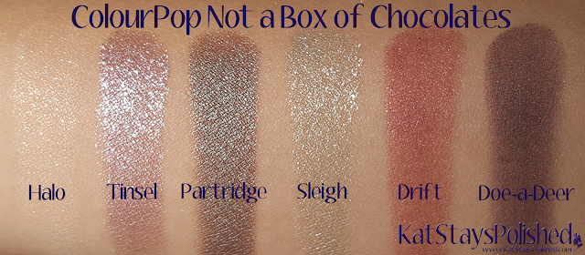 ColourPop Not a Box of Chocolates | Kat Stays Polished
