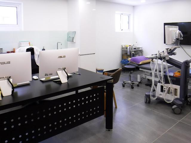 捷安復健專科診所-高雄市前金區-診間-復健科-超音波-運動傷害-酸痛
