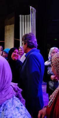مسرحية ( الحالة توهان ) تستضيف جمعية سحر الحياة