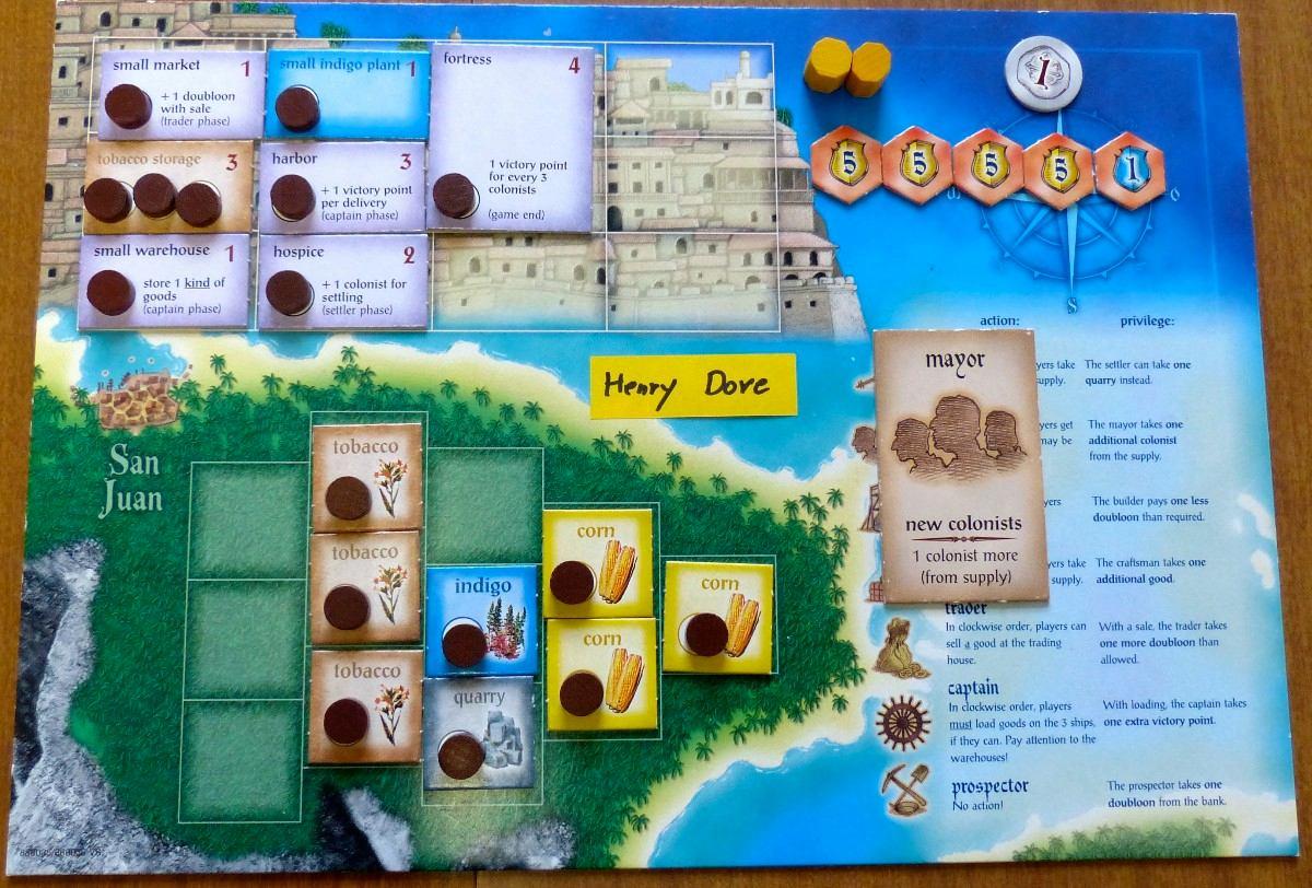 La cueva del friki solitario juegos de mesa puerto rico for Puerto rico juego de mesa