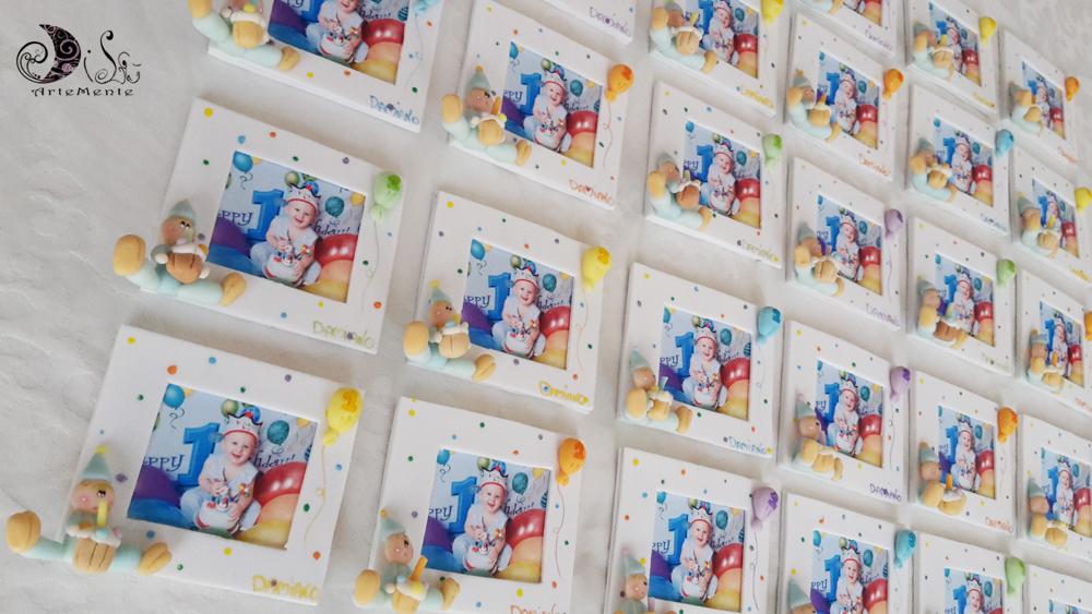 Favorito DiLù Artemente: Bomboniere Cornici portafoto primo compleanno  YG76