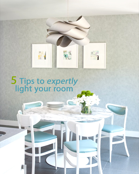 5 Tips to Expertly Light Your Room - Lighting is so important in creating a pleasing mood in your home. Here are some useful tips for what lighting to choose and how to arrange it to best effect. With amazing lighting examples from Parrot Uncle. #decor #lighting #design #home #idea