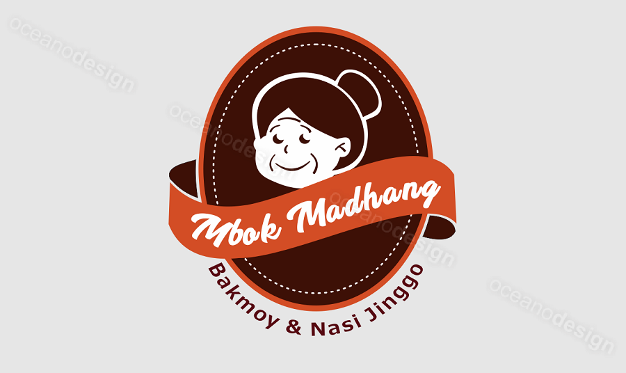 Desain Logo Kuliner Mbok Madhang Jasa Desain Grafis Jogja
