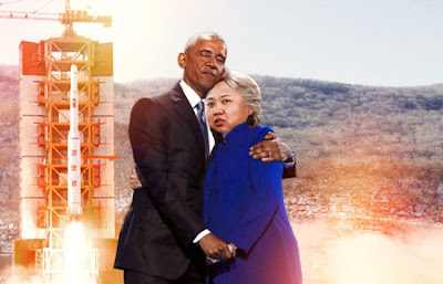 Obama and Hillary Clinton Hug Memes