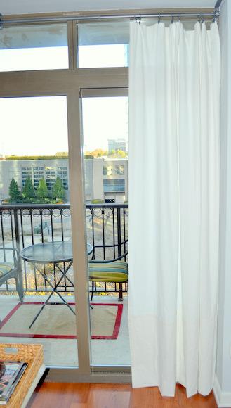 Hemmed Curtains