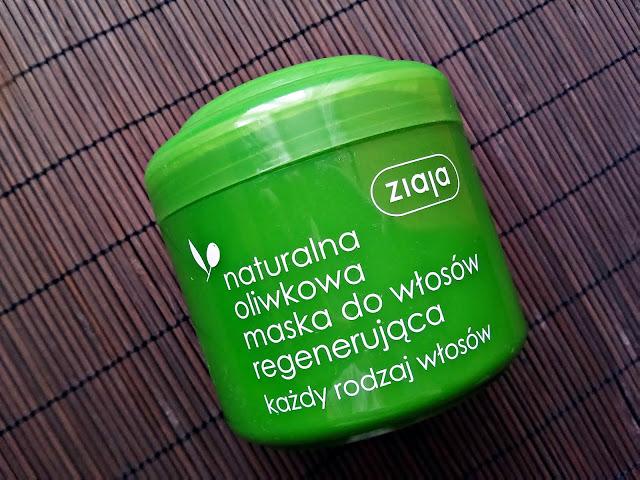 Ziaja - Naturalna, oliwkowa maska regenerująca do włosów, opakowanie
