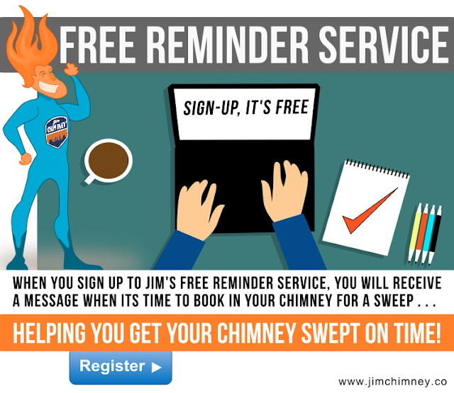 Chimney sweep free reminder dorset