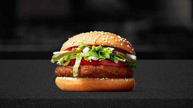 McDonalds saca al mercado una hamburguesa vegana