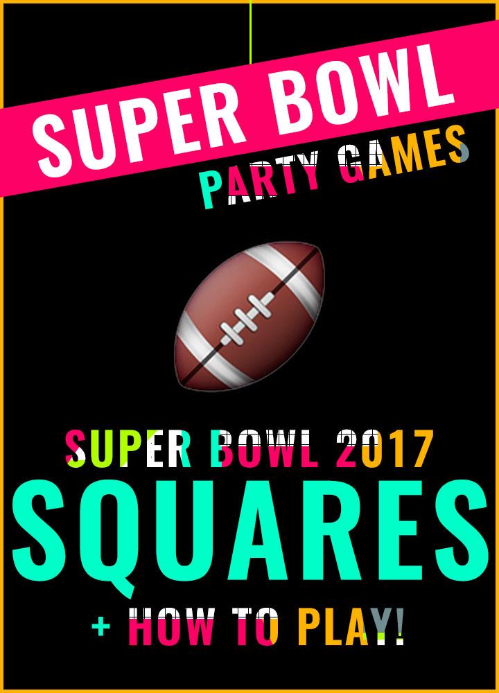 Super Bowl Squares 2017