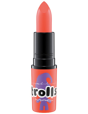 mac trolls collection lipstick sushi kiss
