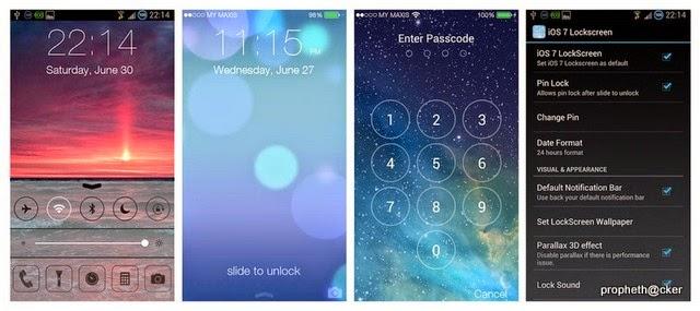 iOS 7 Lockscreen Parallax HD