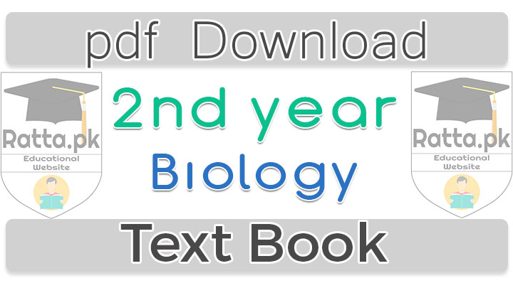 2nd Year Biology Book pdf Download - 12th Class Biology