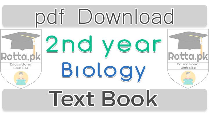 12th Biology Book Pdf