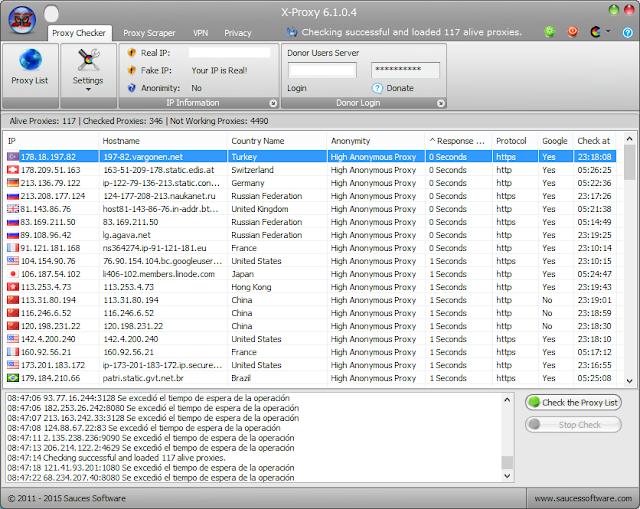 تحميل برنامج بروكسي للكمبيوتر مجانا برابط مباشر Download X-Proxy