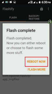 FLASHIFY-REBOOT-NOW