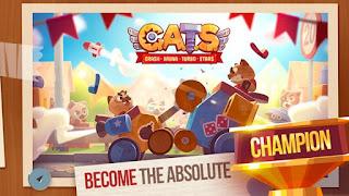 C.A.T.S Crash Arena Turbo Stars Mod Apk v2.0.2 Full Unlocked Terbaru