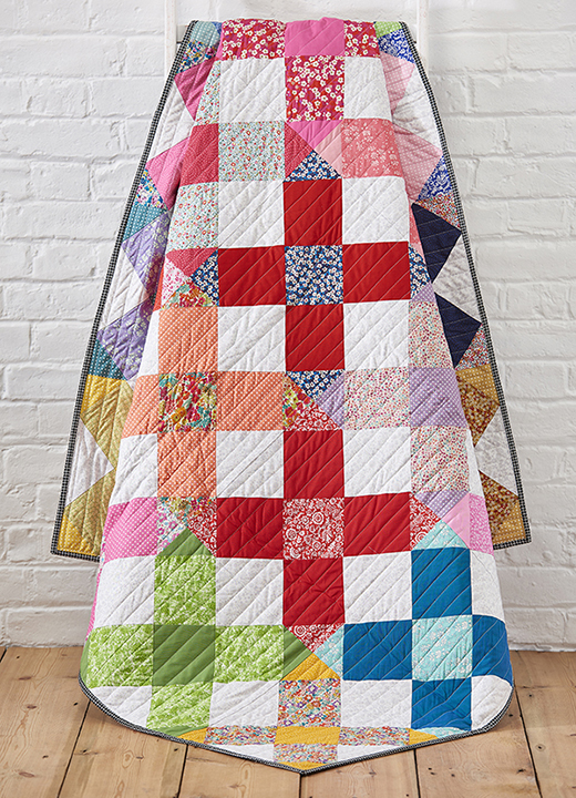 Liberty Crosses Quilt Free Tutorial