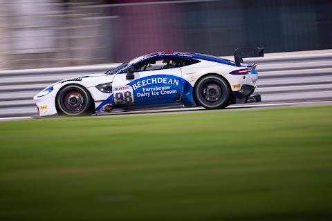 Vantage GT3 Secured its First Podium