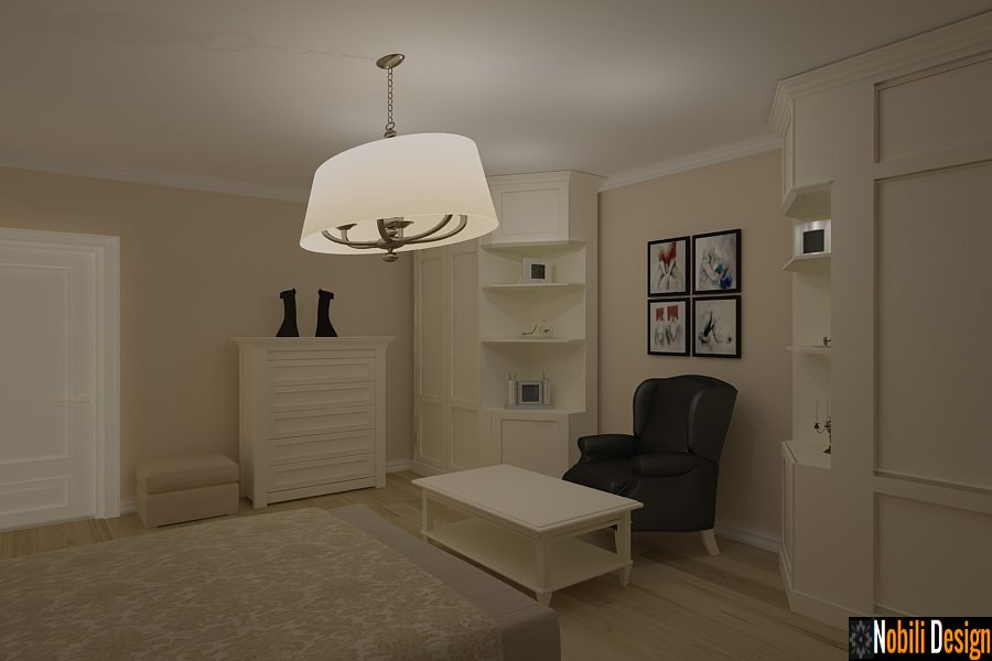 Design interior mobila living clasic Tulcea - Design interior dormitor casa clasica | AMENAJARI INTERIOARE TULCEA, MOBILA LA COMANDA TULCEA, DESIGNER DE INTERIOARE TULCEA,