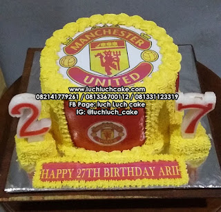 Edible Cake Manchester United