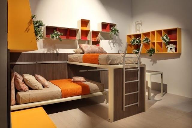 Dormitorios juveniles modernos for Dormitorios estudiantes decoracion
