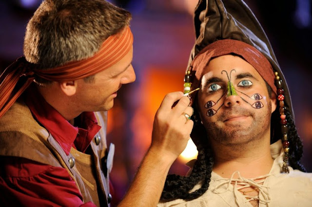 Maquiagem Pirata na Disney