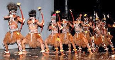 Tari Perang Tarian Tradisional Yang Terkenal Di Papua Barat