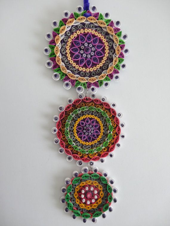 Quilling Wall Art Design : Quilling wall hanging designs