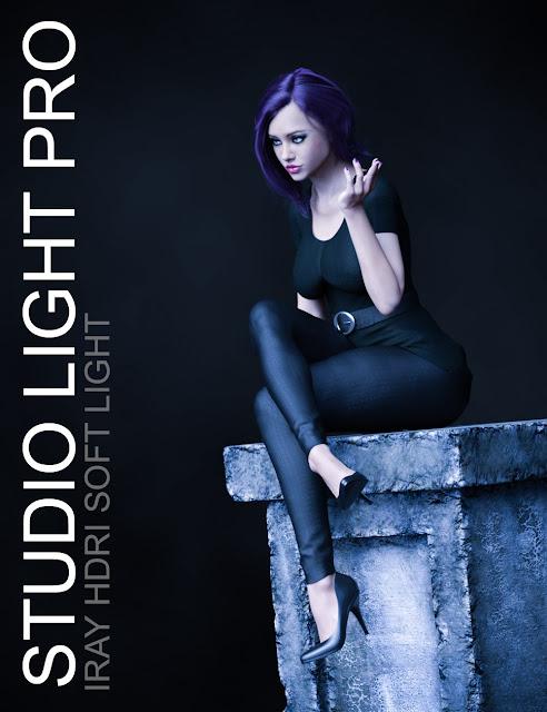 Studio Light PRO Iray HDRI - Soft Light