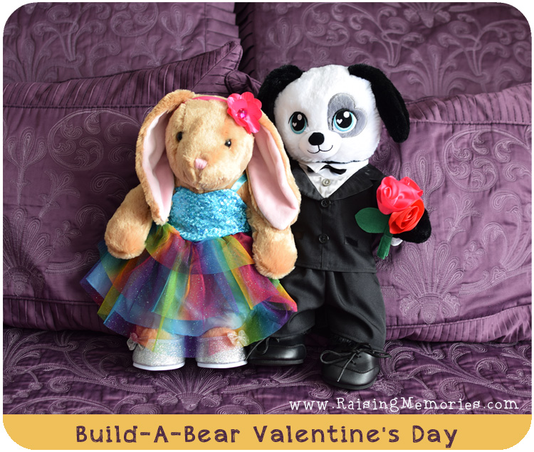 Valentines Day Build A Bear Couple