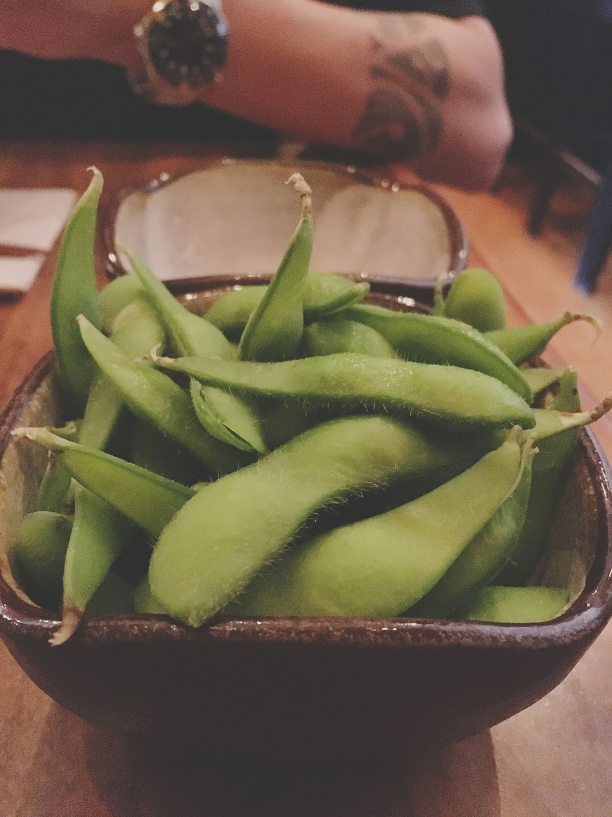edamame at Saru Sushi - a restaurant in San Francisco