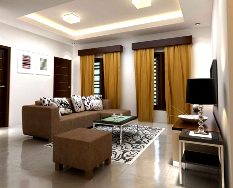 contoh desain interior rumah sederhana yang terlihat