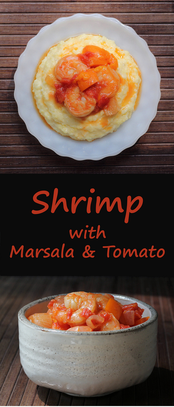 Shrimp with Marsala and Tomato