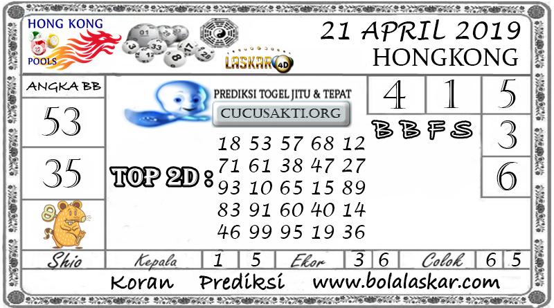Prediksi Togel HONGKONG LASKAR4D 21 APRIL 2019