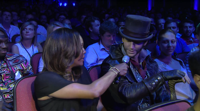 Jacob Frye cosplay Assassin's Creed Syndicate Aisha Tyler Ubisoft E3