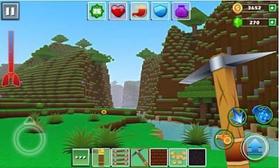 Exploration Craft MOD APK v1.0.3 Unlimited Money Terbaru