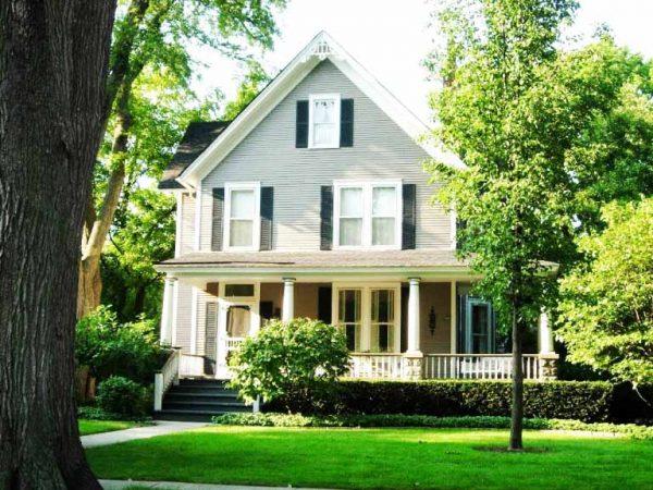 Desain Rumah Gaya Amerika