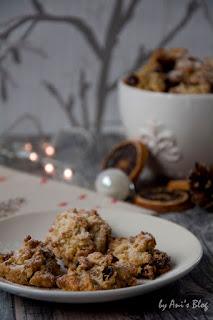 Weihnachtsplätzchen Plätzchenrezept für Stollenkonfekt