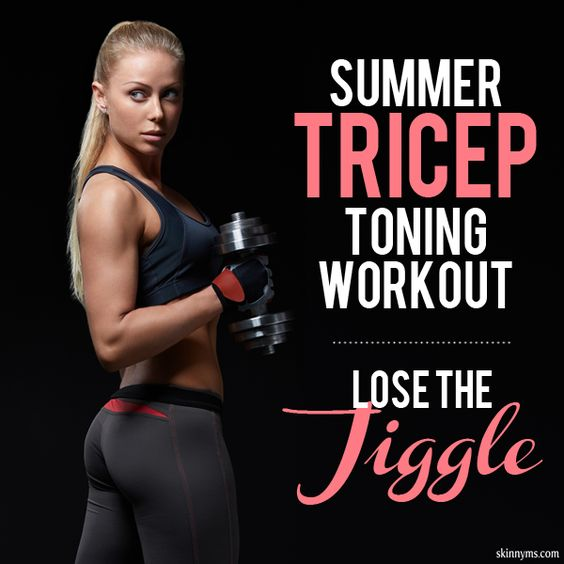 Summer Tricep Toning Workout