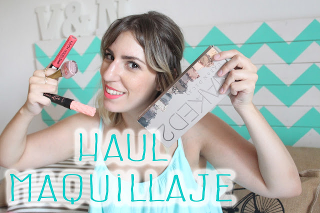haul maquillaje y belleza
