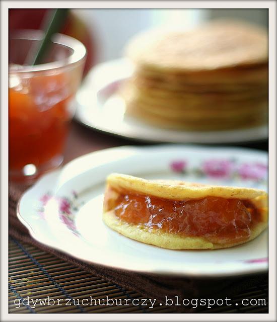 racuszki śniadaniowe z kaszyjaglanej