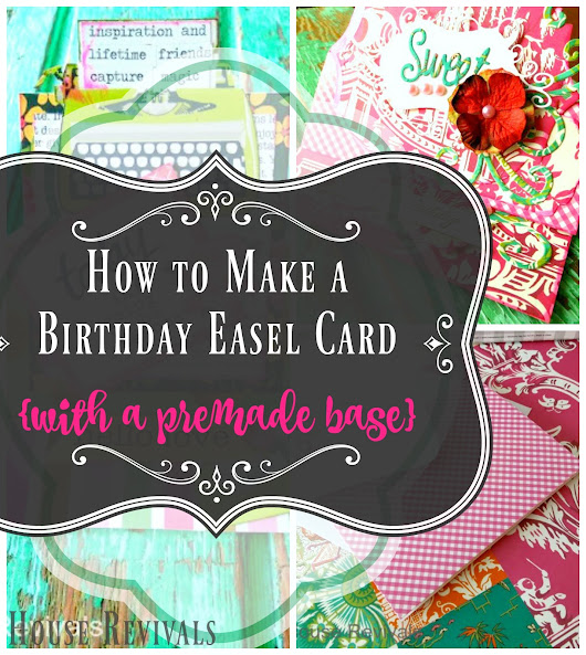Easy Birthday Easel Card