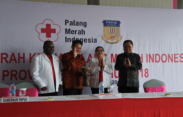 Palang Merah Indonesia (PMI) Diminta Rebut Hati Rakyat Papua