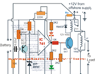 Camper, Motorhome Battery Charger Circuit