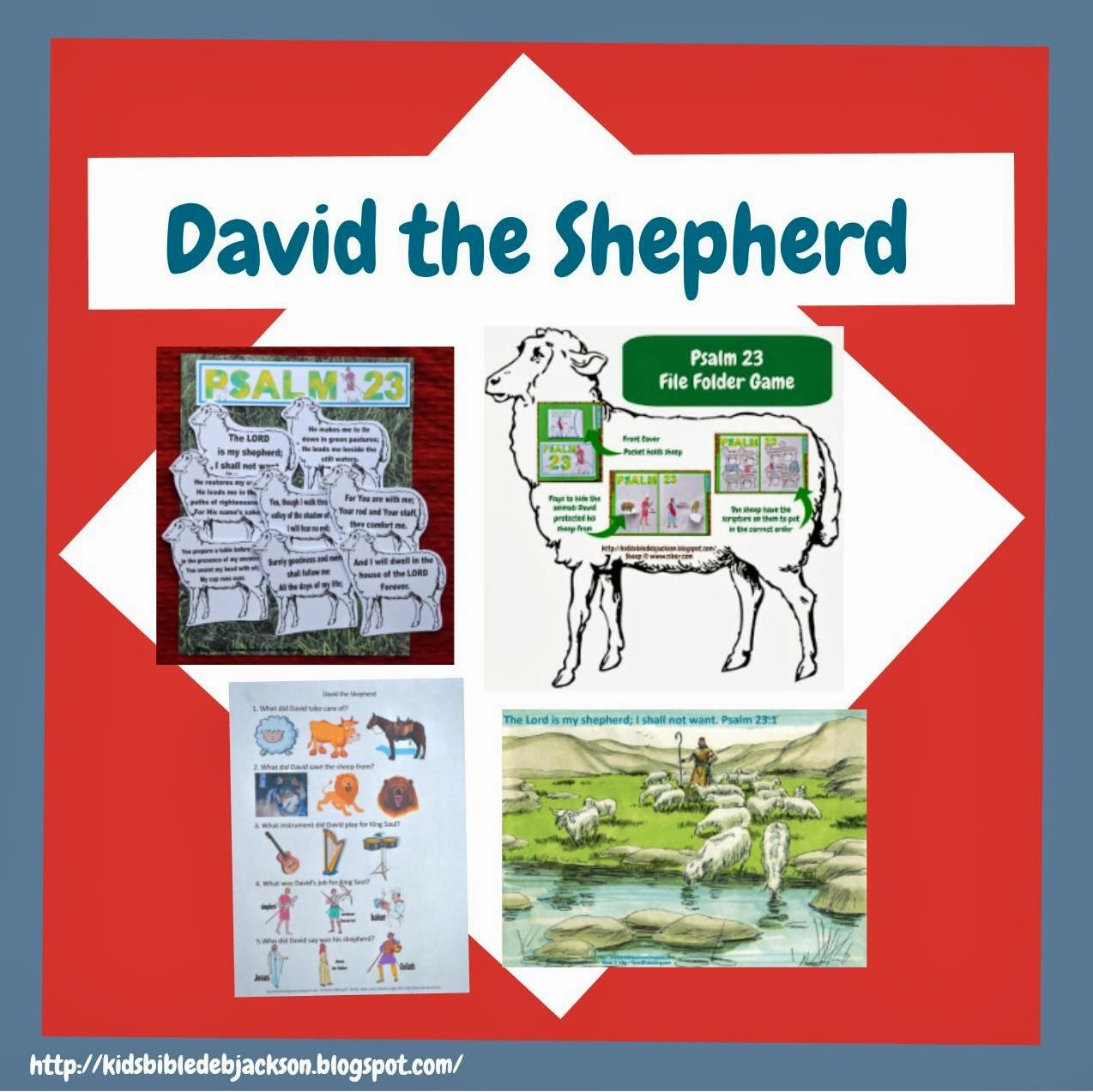 Bible Fun For Kids David The Shepherd Amp Saul Is Made King