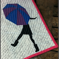 Singing in the Rain Foundation Paper Pieced Quilt Pattern