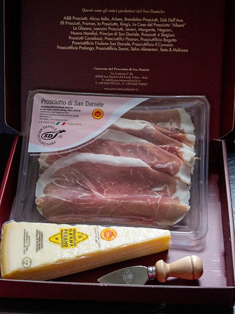 Prosciutto di San Daniele and Grana Padano Cheese