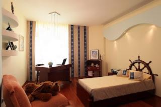 dormitorio infantil marinero